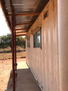 Clinic structure at Kalalusaka