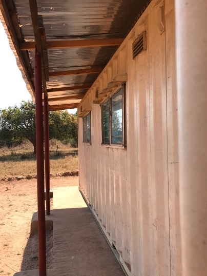 Clinic structure at Kalalusaka