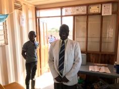 Jotham Sianjibu in the Clinic